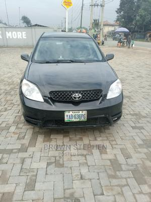 Toyota Matrix 2004 Black   Cars for sale in Rivers State, Oyigbo