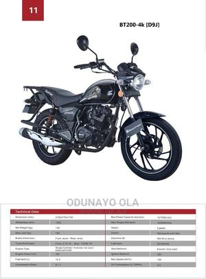 New Motorcycle 2020 Black   Motorcycles & Scooters for sale in Lagos State, Ikeja