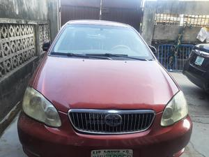 Toyota Corolla 2005 Verso 1.6 VVT-i Red | Cars for sale in Lagos State, Surulere