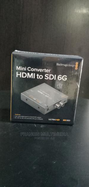 Blackmagic Design HDMI to SDI 6G Mini Converter | Accessories & Supplies for Electronics for sale in Lagos State, Ikeja