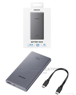 Samsung 25W Battery Pack Powerbank 10000mah (EB-P3300XJEGWW) | Accessories for Mobile Phones & Tablets for sale in Lagos State, Ikeja
