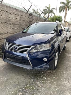 Lexus RX 2015 350 AWD Blue | Cars for sale in Lagos State, Ogba