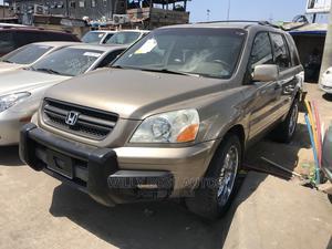Honda Pilot 2005 EX-L 4x4 (3.5L 6cyl 5A) Gold | Cars for sale in Lagos State, Amuwo-Odofin