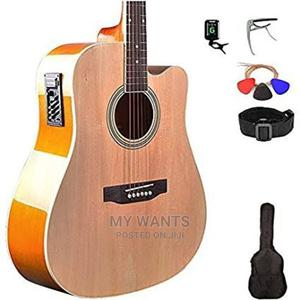 Acoustic Guitar With Full Kits   Musical Instruments & Gear for sale in Rivers State, Port-Harcourt