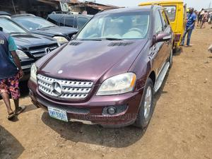 Mercedes-Benz M Class 2007 ML 350 4Matic Red   Cars for sale in Lagos State, Lekki