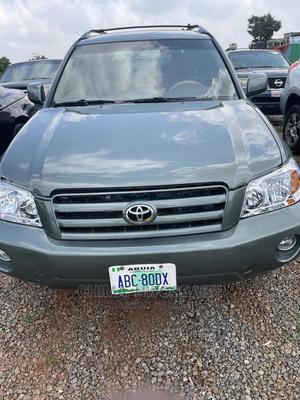 Toyota Highlander 2003 Green | Cars for sale in Abuja (FCT) State, Gaduwa