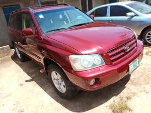 Toyota Highlander 2003 Limited V6 FWD Red   Cars for sale in Kaduna State, Kaduna / Kaduna State