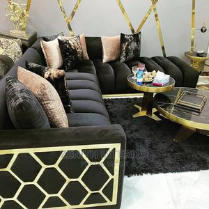 Fabric L Shape Sofa   Furniture for sale in Abuja (FCT) State, Wuse 2