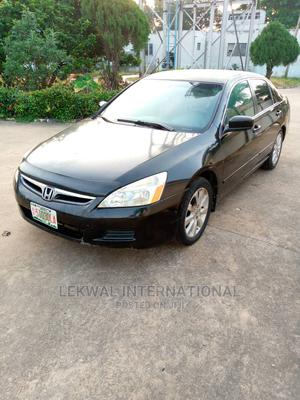 Honda Accord 2007 Coupe EX-L V-6 Automatic Black | Cars for sale in Lagos State, Ikeja