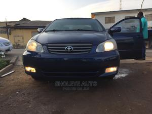 Toyota Corolla 2003 Sedan Blue | Cars for sale in Lagos State, Ikeja