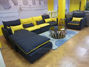 Quality Leather L Shape Sofa   Furniture for sale in Abuja (FCT) State, Wuse 2