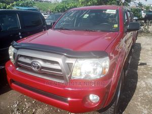 Toyota Tacoma 2009 Access Cab Automatic Red   Cars for sale in Lagos State, Apapa