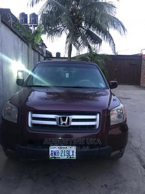 Honda Pilot 2007 LX 4x4 (3.5L 6cyl 5A) Red | Cars for sale in Rivers State, Port-Harcourt