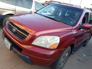 Honda Pilot 2004 EX 4x4 (3.5L 6cyl 5A) Red | Cars for sale in Rivers State, Port-Harcourt