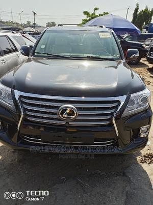 Lexus LX 2012 570 Black | Cars for sale in Lagos State, Amuwo-Odofin