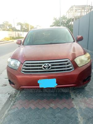 Toyota Highlander 2009 Red | Cars for sale in Lagos State, Ajah