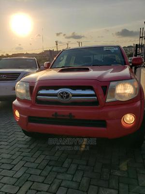 Toyota Tacoma 2008 4x4 Double Cab Red | Cars for sale in Lagos State, Magodo