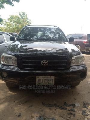 Toyota Highlander 2003 Black   Cars for sale in Abuja (FCT) State, Gaduwa