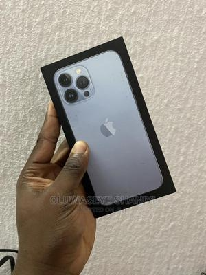 New Apple iPhone 13 Pro Max 128 GB Blue   Mobile Phones for sale in Lagos State, Surulere