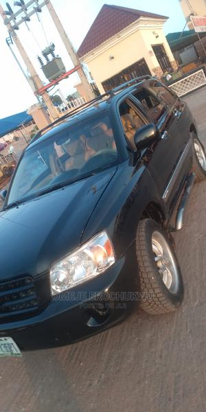 Toyota Highlander 2003 Black   Cars for sale in Abuja (FCT) State, Apo District