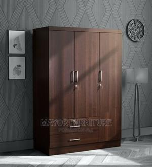 6ft X 5ft Brown Wardrobe | Furniture for sale in Lagos State, Yaba