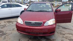 Toyota Corolla 2007 LE Red | Cars for sale in Lagos State, Ikotun/Igando