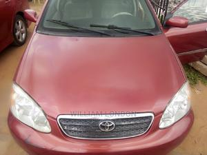 Toyota Corolla 2005 LE Red | Cars for sale in Anambra State, Awka