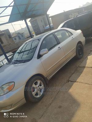 Toyota Corolla 2003 Sedan Automatic Silver | Cars for sale in Lagos State, Abule Egba