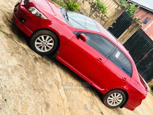 Toyota Corolla 2010 Red | Cars for sale in Abuja (FCT) State, Central Business District