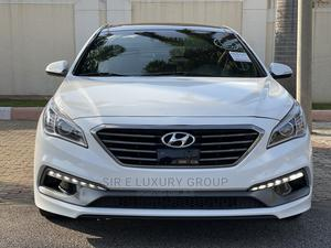 Hyundai Sonata 2015 White   Cars for sale in Abuja (FCT) State, Gwarinpa