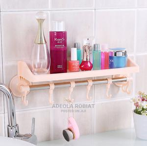 Multipurpose Bathroom/Kitchen Storage With Hangers | Home Accessories for sale in Lagos State, Alimosho