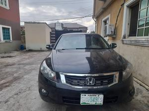 Honda Accord 2008 2.4 EX-L Automatic Black | Cars for sale in Lagos State, Ajah