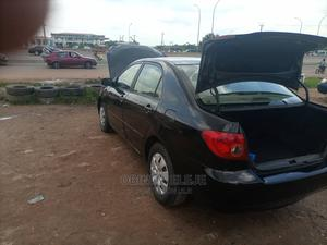 Toyota Corolla 2007 LE Black | Cars for sale in Abuja (FCT) State, Kubwa