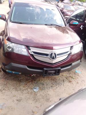Acura MDX 2007 SUV 4dr AWD (3.7 6cyl 5A) Red | Cars for sale in Lagos State, Amuwo-Odofin