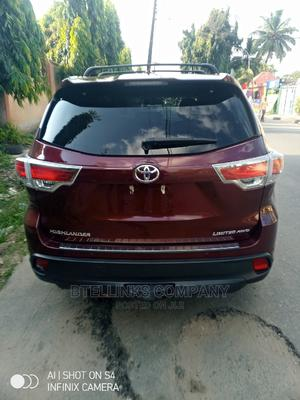 Toyota Highlander 2016 Red | Cars for sale in Lagos State, Ikeja
