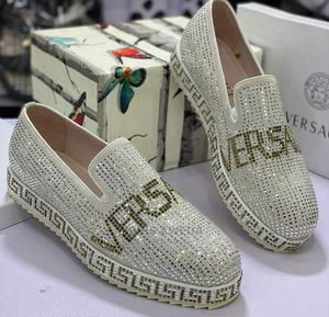 Original Men's Flat Shoes Versace Stones | Shoes for sale in Lagos State, Ajah
