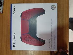 PS5 Dualsense Wireless Controller - Cosmic Red   Video Game Consoles for sale in Lagos State, Agege
