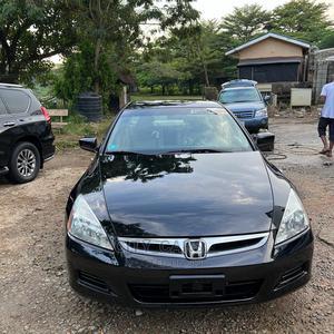 Honda Accord 2007 Black   Cars for sale in Abuja (FCT) State, Asokoro