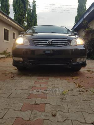 Toyota Corolla 2004 S Black   Cars for sale in Abuja (FCT) State, Kubwa