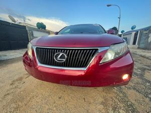 Lexus RX 2012 350 AWD Red | Cars for sale in Lagos State, Alimosho