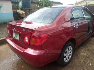 Toyota Corolla 2004 Sedan Red | Cars for sale in Imo State, Owerri