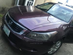 Honda Accord 2008 2.4 EX-L Red | Cars for sale in Rivers State, Port-Harcourt