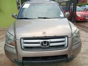 Honda Pilot 2007 EX 4x2 (3.5L 6cyl 5A) Gold | Cars for sale in Lagos State, Alimosho
