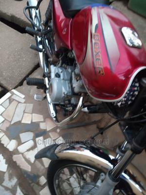 Bajaj Boxer 2018 Red   Motorcycles & Scooters for sale in Lagos State, Agege