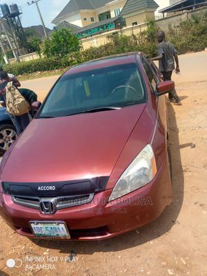 Honda Accord 2005 Red | Cars for sale in Abuja (FCT) State, Bwari