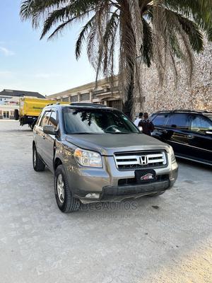 Honda Pilot 2007 Gray   Cars for sale in Lagos State, Ajah