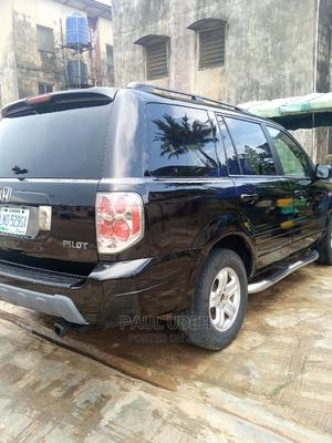 Honda Pilot 2006 EX 4x2 (3.5L 6cyl 5A) Black   Cars for sale in Lagos State, Ipaja