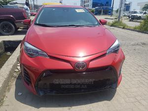 Toyota Corolla 2018 SE (1.8L 4cyl 6M) Red | Cars for sale in Lagos State, Lekki