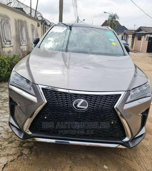 Lexus RX 2018 350 F Sport FWD Beige | Cars for sale in Lagos State, Surulere