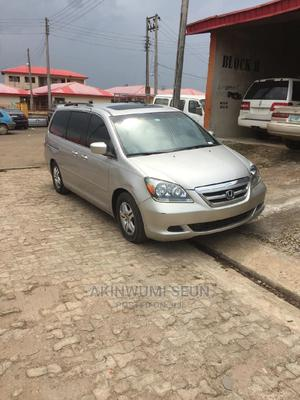 Honda Odyssey 2008 EX-L DVD Silver | Cars for sale in Ondo State, Akure
